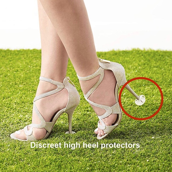 d484a9a954a 4 pairs - Starlettos: High Heel Protectors